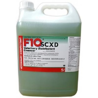 F10 SCXD Veterinary Disinfectant Cleanser 5 L