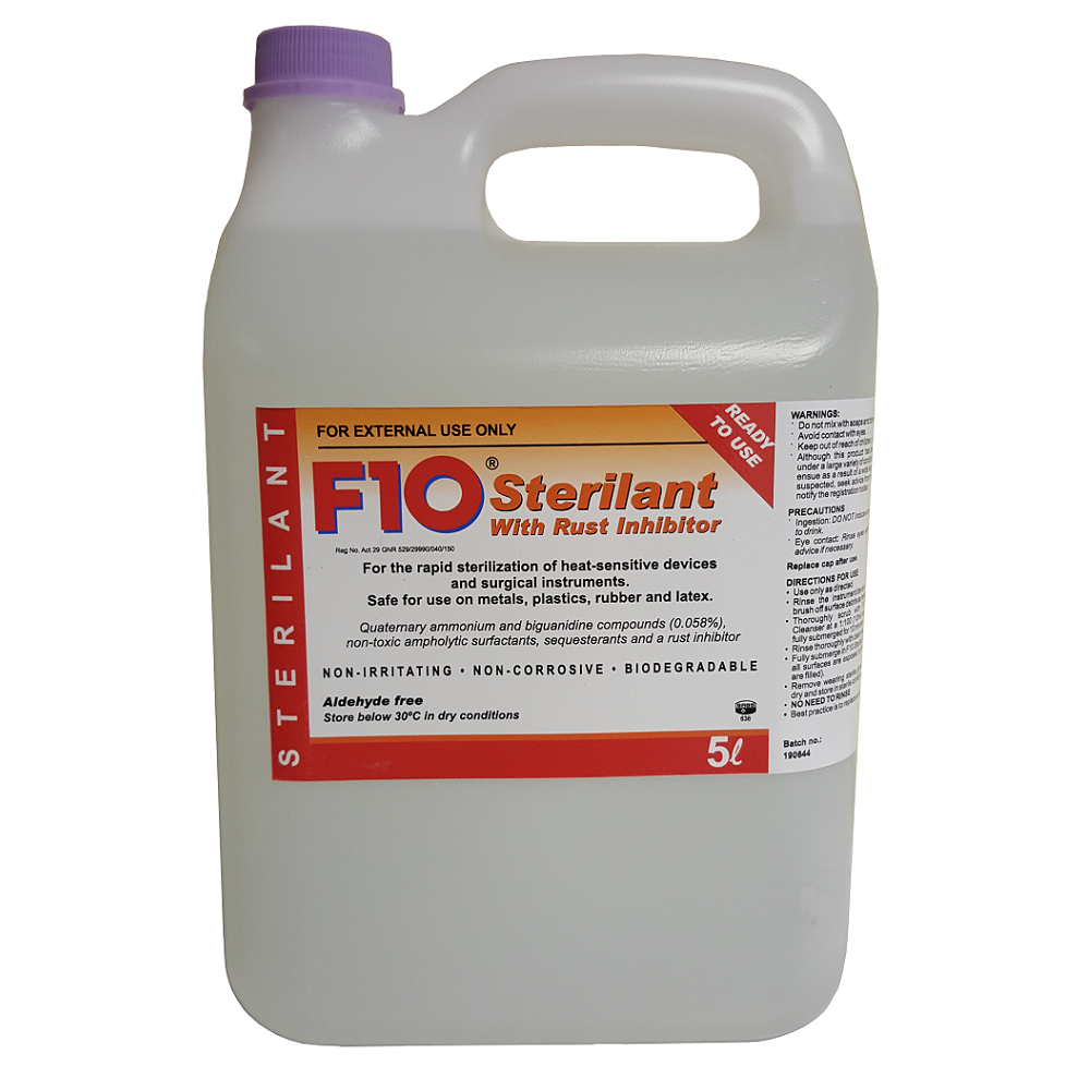 Ready To Use Cold Sterilant With Rust Inhibitor 5 L