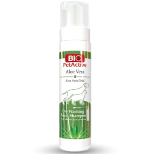 Aloe Vera Dry Washing Foam Shampoo 200ml