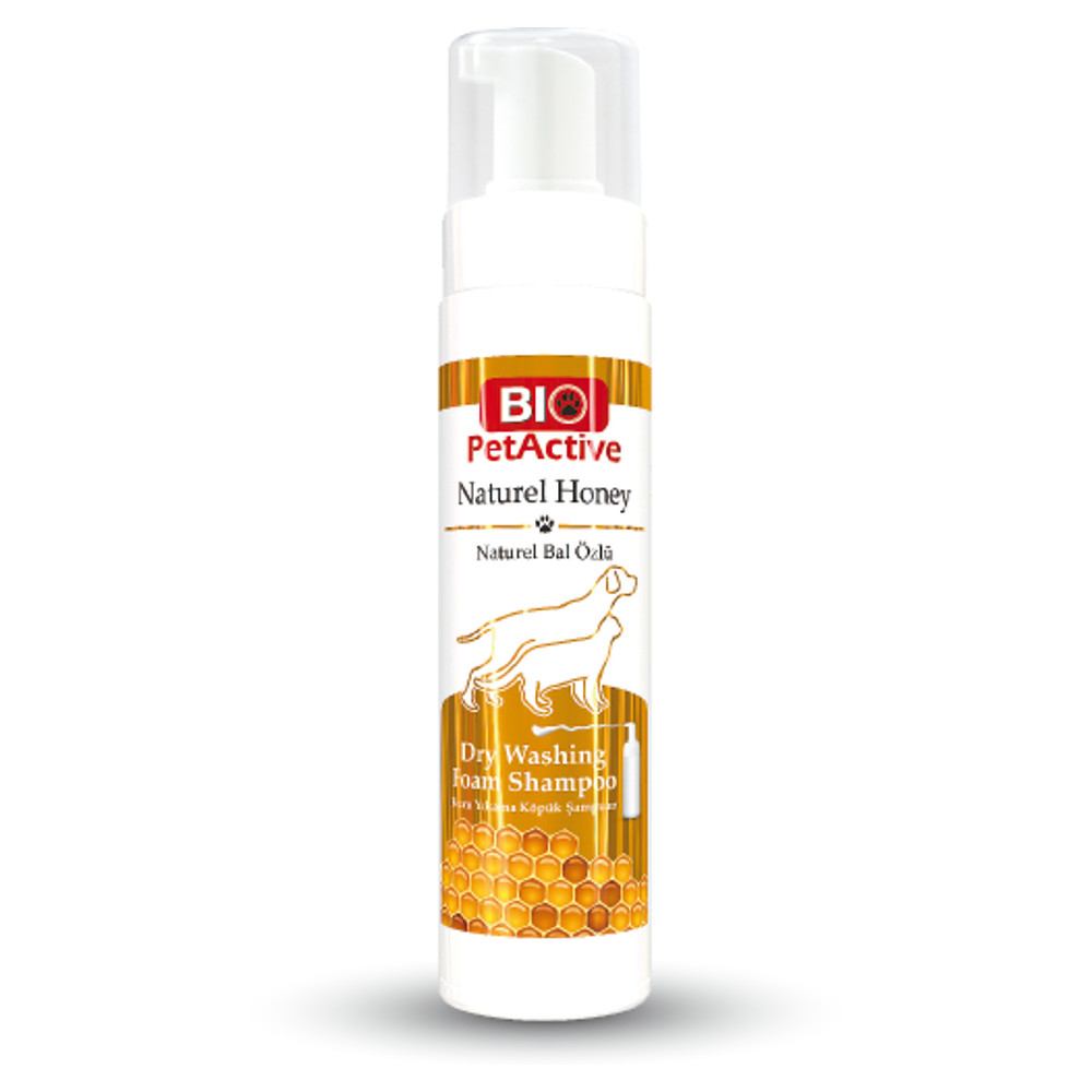 [E008740] Natural Honey Dry Washing Foam Shampoo 200ml