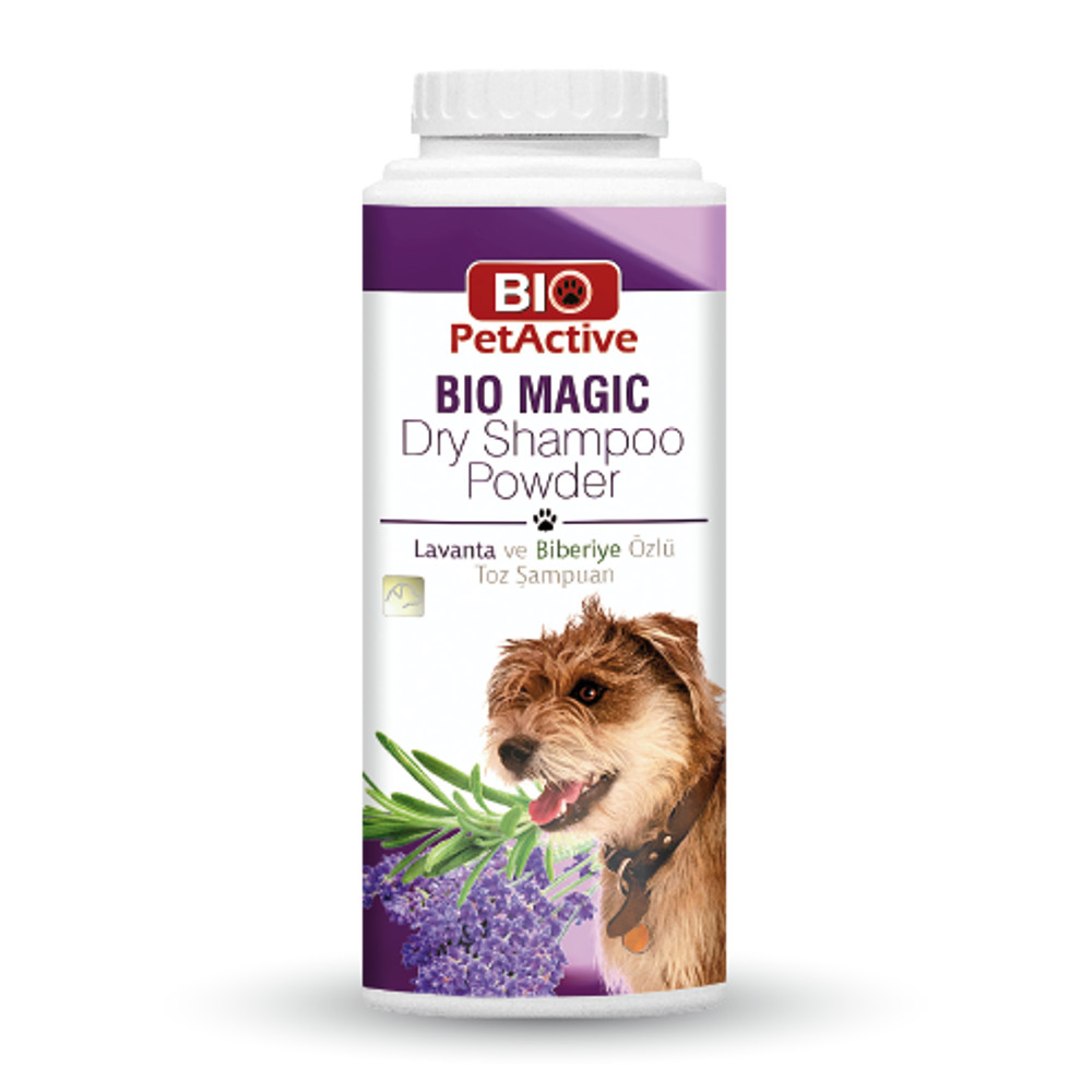 [E008741] Bio Magic Dry Shampoo Powder (For Dogs) 150gm