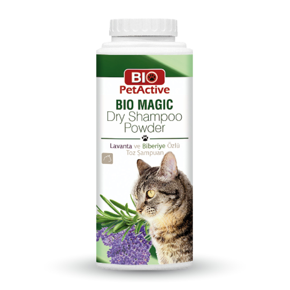 [E008742] Bio Magic Dry Shampoo Powder (For Cats) 150gm