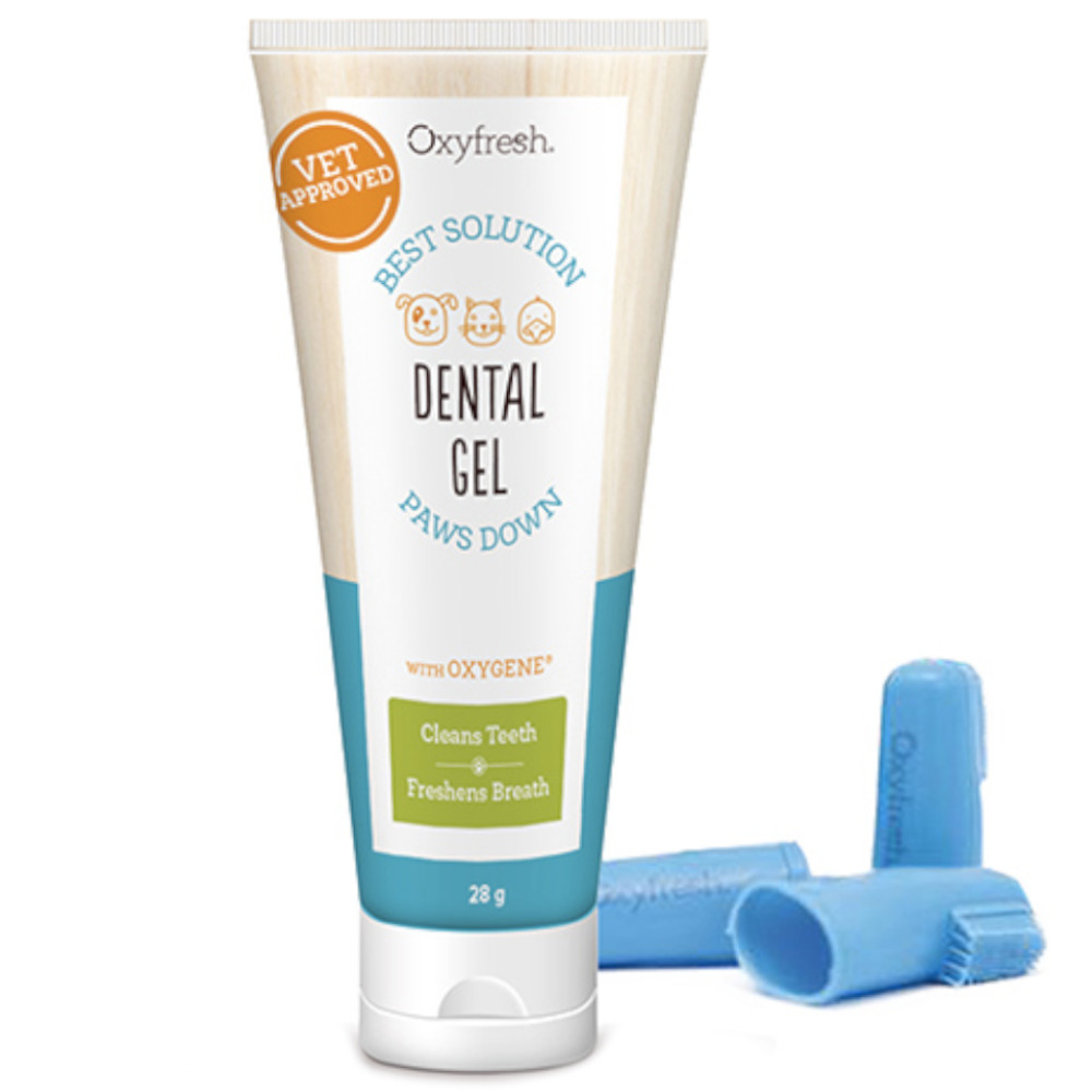 Oxyfresh Gel & Fingerbrush Kit